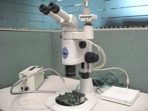 Stereo Microscope and Digital Camera